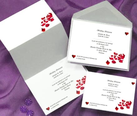carte d invitation mariage dz weddings. Black Bedroom Furniture Sets. Home Design Ideas