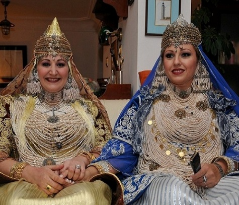 Costume nuptial de Tlemcen
